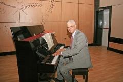 Jorge Solano, quien estuvo a cargo de la ambientacion musical